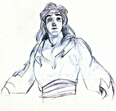Walt Disney Sketches - Prince Adam