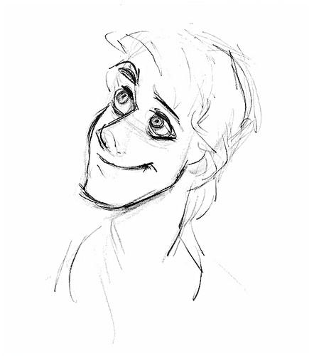 Walt Disney Sketches - Prince Eric