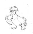 Walt ディズニー Sketches - Scuttle