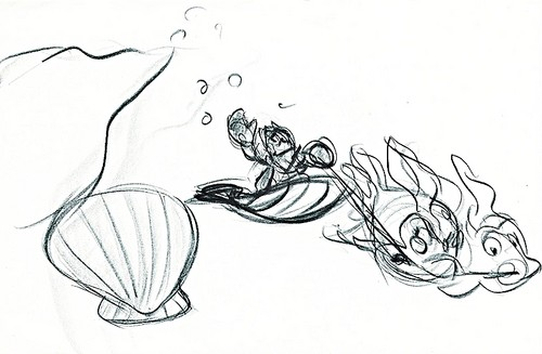 Walt Disney Sketches - Sebastian
