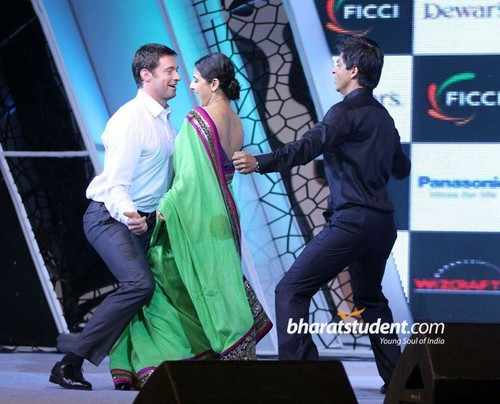With Shahrukh Khan at FICCI Frames 2011