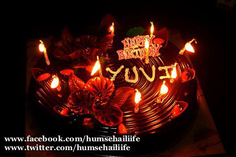 HUMSE HAI LIFE wallpaper possibly with a candle entitled YUVI'S B'DAY BASH