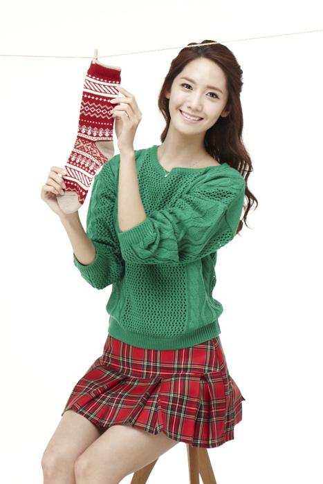 Yoona Innisfree Green Christmas