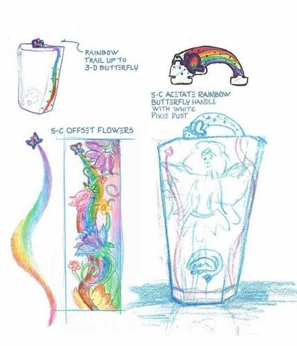 Barbie arcobaleno original sketch!