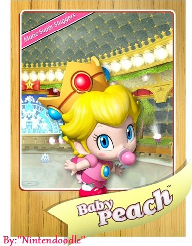 Princess Peach wallpaper possibly containing anime titled bb Peach bach