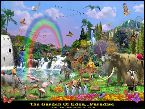 garden of eden art picture - the-bible Photo