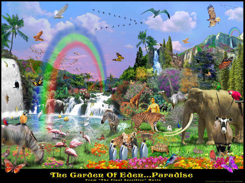 garden of eden art picture