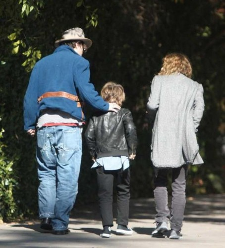 jack,johnny & vanessa in LA -nov 22/11