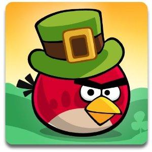 lucky angry bird