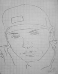 my drawling of eminem