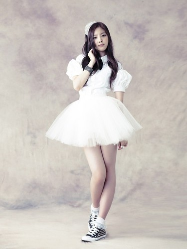 naeun - Snow rose Individual veste photo