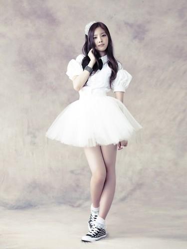naeun - Snow 粉, 粉色 Individual 夹克 照片