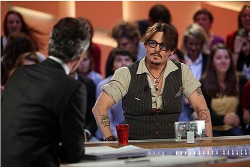 Johnny Depp at Grand Journal