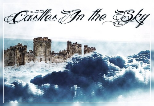 Photoshop wallpaper possibly with a castle called photoshop work
