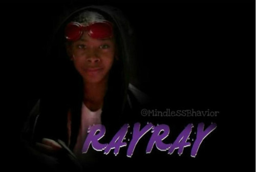 Ray Ray (Mindless Behavior) wallpaper probably containing a sign and sunglasses called ray ray kisses