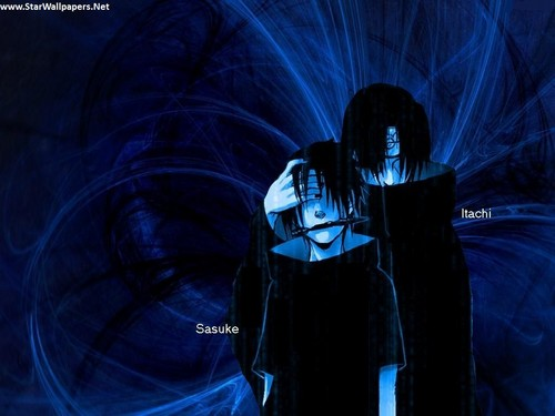 sasuke-itachi wolpeyper