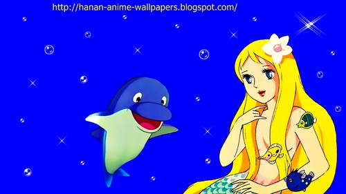 funkyrach01 wallpaper possibly containing anime called the Little Mermaid