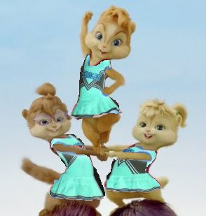 the sparkettes cheerleaders