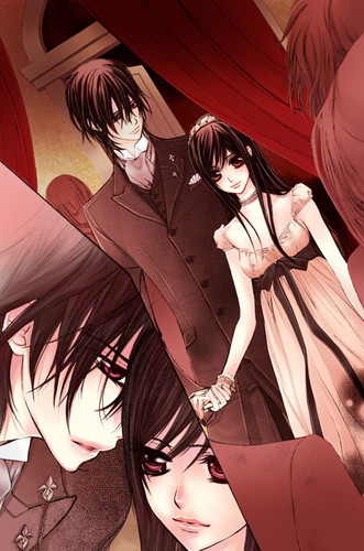 Vampire Knight wolpeyper probably containing a bridesmaid and a hapunan dress called vampire knight