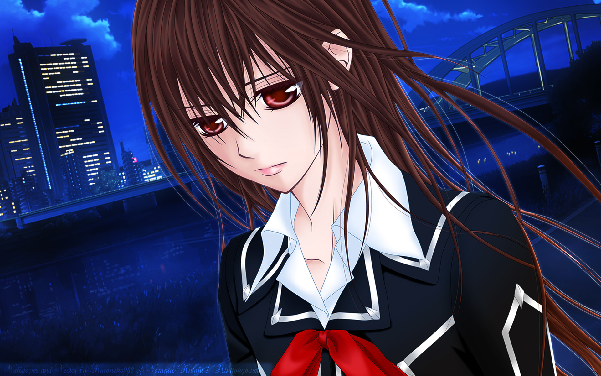 zero wallpaper vampire knight