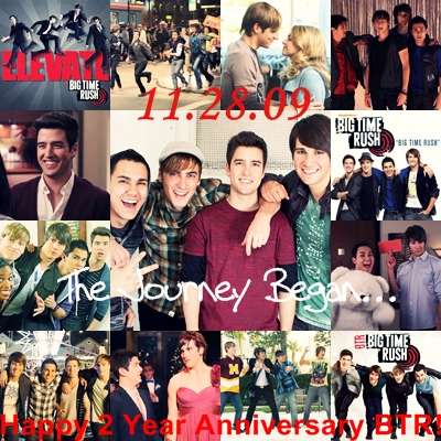☆ Big Time Rush ☆ 2 an anniversary November 28