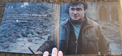"""Consider HP"" booklet for the Oscar jury"