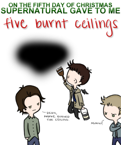 12 days of Supernatural Christmas
