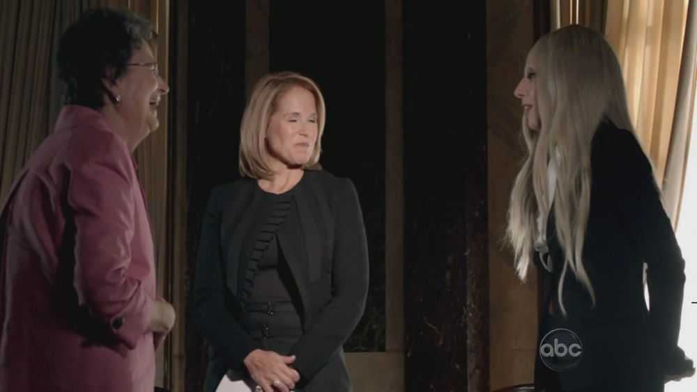 A Very Gaga Thanksgiving - Interview with Katie Couric