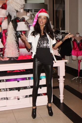 Adriana Lima attends Holiday gift picks