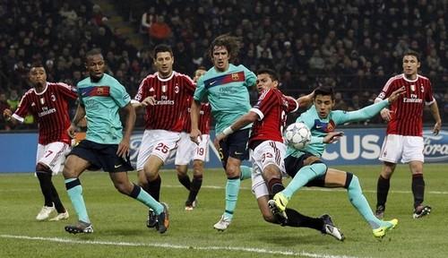 Alexis Sanchez - AC Milan (2) v FC Barcelona (3) - UEFA Chamions League