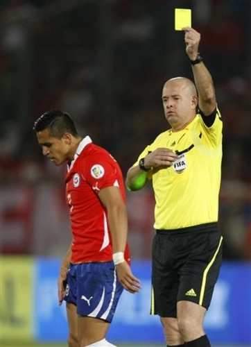 Alexis Sanchez - Chile (2) v Paraguay (0)