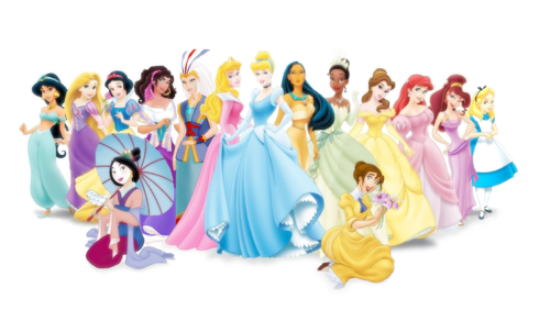 Disney Princess achtergrond entitled All Disney Princess