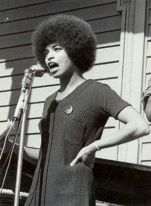 Angela Davis - feminism Photo