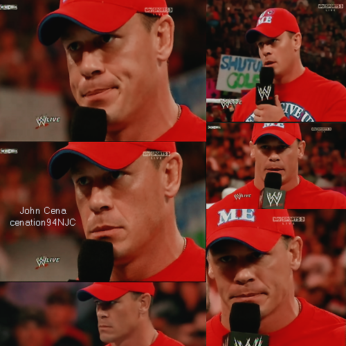 John Cena wallpaper containing a first baseman, an umpire, and a ballplayer titled Aww ♥
