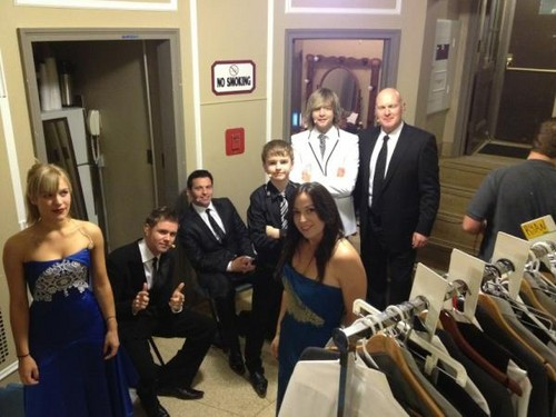 Back stage Hershey Theatre  - celtic-thunder Photo
