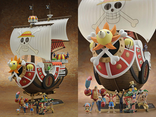 One Piece fond d'écran entitled Bandai One Piece Thousand Sunny New World Version