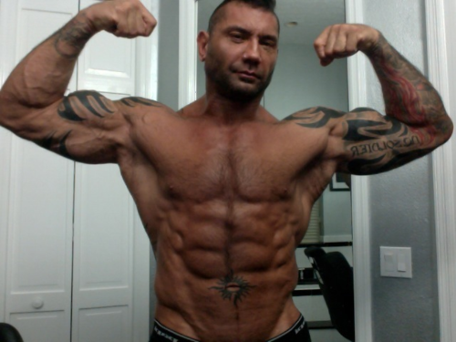 Batista like you ve never seen him before: photos WWE 42