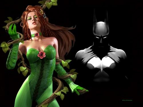 Бэтмен and Poison Ivy