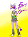 Blaze Kagamine - blaze-the-cat fan art