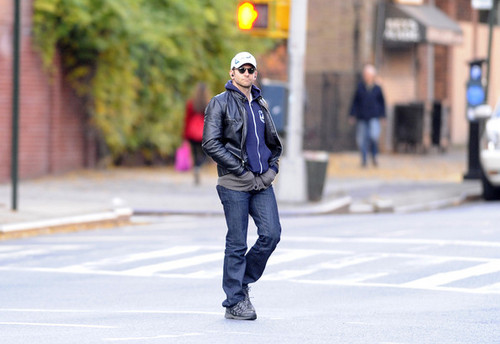 Bradley Cooper Out in the West Village
