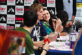 Bradley James and Katie McGrath!