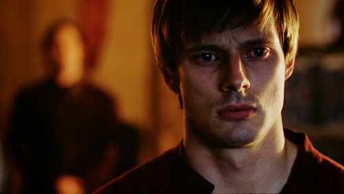 Bradley James wallpaper probably with a concert and a portrait entitled Bradley as Arthur