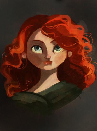 Công chúa tóc xù người hâm mộ Art