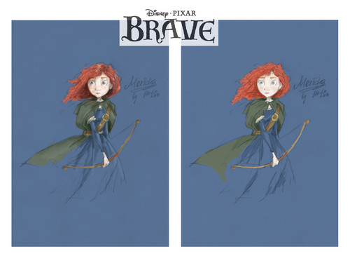 Ribelle - The Brave fan Art