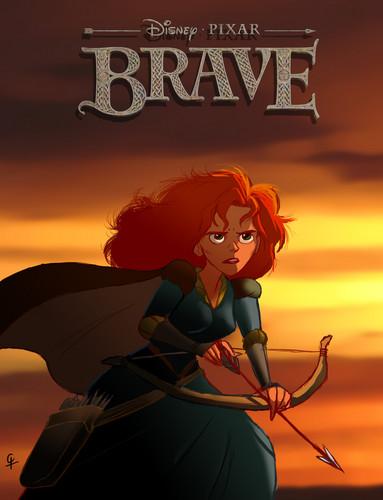 Ribelle - The Brave fan Art