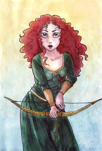 Merida - Legende der Highlands Fan Art