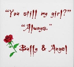Buffy and Angel <33