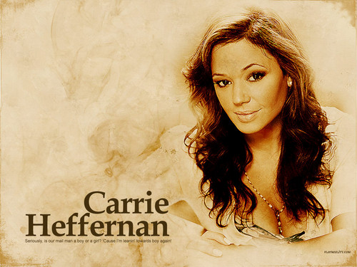 Carrie - the-king-of-queens Wallpaper