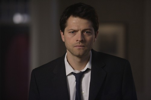 Castiel wallpaper containing a business suit, a suit, and a three piece suit called Castiel