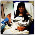 Christina Perri in the hospital